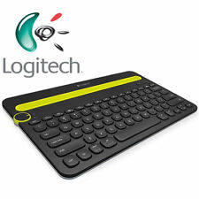 Logitech K480 Bluetooth Multi-Device Keyboard / Tastatur - drahtlos - Black - DE