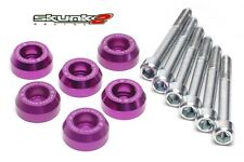 SKUNK2 Lower Control Arms Dress-Up Washers Purple 90-01 Integra/88-00 Civic EG