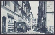 COSENZA CITTÀ 23 AUTO POSTALE - REGIE POSTE - I.T.A.S. Cartolina viaggiata 1927