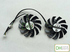 75mm MSI GTX 560 570 580 R6770 R6870 TwinFrozrII Dual Cooler Fan PLD08010S12HH