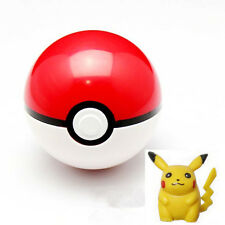 Fun Kids Children Baby Pokemon Pokeball Pop-up Ball & Pikachu Action Figures Toy