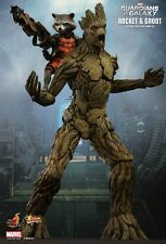 Hot Toys MMS254 Rocket and Groot - Potted Groot Sideshow Exclusive - 1:6 Scale