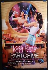 Katy Perry: Part of Me (2012) Original 27x40 Movie Poster DS