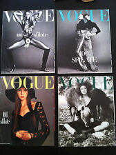lotto 4 magazine VOGUE Italia Italy 100 Sfilate 1992 1993 100 Fashion Shows top