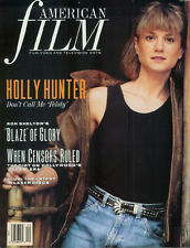 HOLLY HUNTER Richard Sylbert JOSEPH BREEN Ron Shelton 1989  Film magazine
