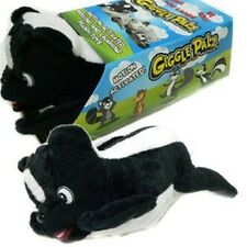 Giggle Pals Plush Rolling & Laughing SKUNK Toy - FUNNY!
