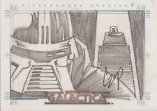 "Complete Battlestar Galactica - John Czop ""Cylon & Imperious Leader"" Sketch Card"