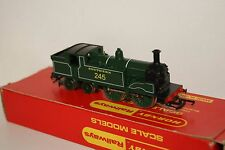 OO Gauge GOOD/EXCELLENT Tri-ang Hornby M7 Tank 0-4-4 SR Dark Green '245' NICE