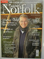 Eastern Daily Press Norfolk Magazine. Issue 154. February 2012. Horsham St Faith