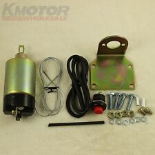 50lb solenoid shaved door kit popper Kit hot rod rat rod complete Brand New