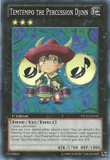YuGiOh Temtempo the Percussion Djinn - YS12-EN041 - Super Rare - 1st Edition Nea