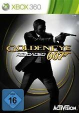Xbox 360 James Bond Golden Eye 007 Reloaded alemán como nuevo