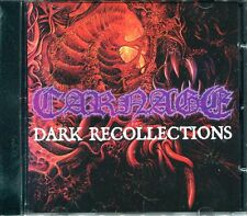 CARNAGE Dark Recollections REISSUE DISMEMBER NIHILIST ENTOMBED