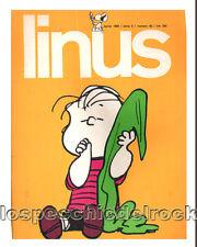 Linus -  Aprile 1969  - anno 5 - n° 49  - lire 300 - Rivista a Fumetti - R_2