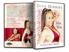 Diva Diaries with Mia Yim DVD CZW Combat Zone Ring of Honor ROH Womens wrestling