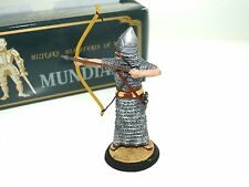 Mundiart Hand Painted Spain Miniature Knight Metal Toy Soldier