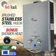 RED TRACK LPG Gas Hot Water Heater - Portable Outdoor Camping Shower 50 Degrees
