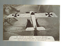 Mint RPPC WW 1 Germany Luftwaffe Captured Fighter Plane Real picture postcard