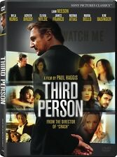 THIRD PERSON New Sealed DVD Liam Neeson Mila Kunis