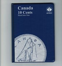 Uni-Safe Canadian Canada 10 Cents Dime Coin Album Folder Blank - No Date