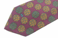 VALENTINO  men's silk neck tie made in Italy