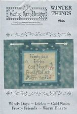 Christmas Winter Things by Waxing Moon Designs Cross Stitch Chart