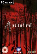 CAPCOM RESIDENT EVIL 4 IV for PC SEALED NEW