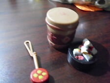 Lot of Vintage 1970s Lone Ranger Action Figure Accessories Camp Fire Drum