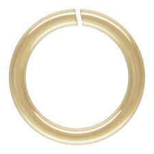 14KT 14/20 Gold Filled 3mm OPEN Jump Rings. 21Ga.  Approx. 100 Pieces