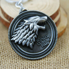 Game of Thrones House Stark Car Key Chain Pendant Keychain Keyring Metal Keyfob