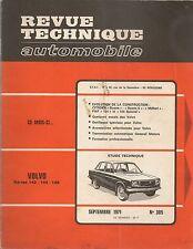 REVUE TECHNIQUE AUTOMOBILE 305 RTA 1971 VOLVO 142 144 145 CITROEN DYANE & MEHARI