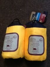2 hostel  sleeping bag liners