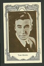 Tom Moore Vintage 1920s Silent Film Movie Spanish Card