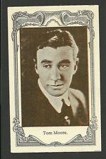 Tom Moore Vintage 1920s Silent Film Movie Spanish Card