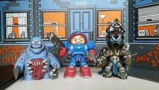 Heroes of the Storm Mystery Minis Lot: Patriot Jim Raynor, Stitch & Arthas