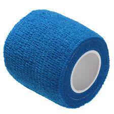 First Aid Medical Treatment Self-Adhesive Elastic Bandage Gauze Tape Blue Color