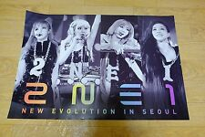 2NE1 - 2012 2NE1 Global Tour Live CD [New Evolution in Seoul] POSTER* KPOP