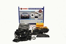 CISBO CAR REAR REVERSING PARKING SENSORS 4 SENSOR BUZZER LED DISPLAY CANBUS KIT