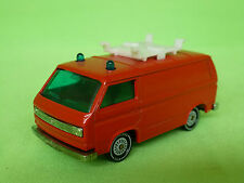 SIKU 1331 VW TRANSPORTER FIRE ENGINE FEUERWEHR SELTEN RARE  IN GOOD CONDITION