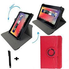 Blaupunkt Endeavour 101M 10.1 Tablet Tasche Dreh & Standfunktion 360 Rot 10 Zoll