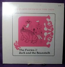 Spoken Arts 33 RPM LP Fairy Tales Album The Fairies & Jack and the Beanstalk!