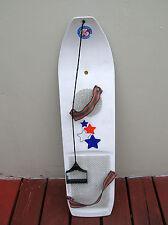 rare vintage snowboard europe 1977 sweden hammarplast snow surfboard burton sims
