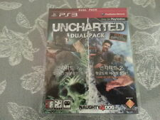 BRAND NEW PS3 Uncharted Dual Pack (KOREAN & ENGLISH VER.)
