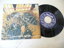 """LE ORME""""PICCOLA RAPSODIA DELL'APE- disco 45 giri PHILIPS Italy 1980"""" PROGRESSVO"""