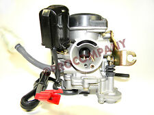 High duty metal Carburetor for 50cc Scooter GY6 139QMB Moped 49cc 60cc Sunl Baja