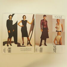 Vogue Patterns NY Collection  # 2704 and Donna Karan # 2767 Size 8,10,12