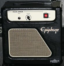 "Epiphone Valve Junior Jr Combo Guitar Tube Amplifier Amp 8"" Eminence Speaker 5Wt"