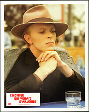 THE MAN WHO FELL TO EARTH original RARE 1975 lobby card movie poster DAVID BOWIE