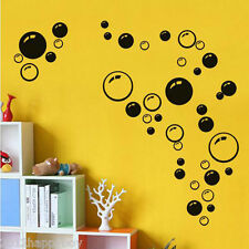Wall Bathroom Shower Tile Removable Home Art Decal Mural Kid Sticker 86 Bubbles