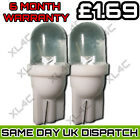 2x Car LED 501 T10 W5W WHITE XENON Side Light Bulbs UK